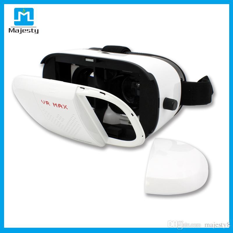 VR Max Carton de réalité virtuelle en plastique VR Lunettes 3D Casque Lunettes de téléphone pour téléphones intelligents DHL