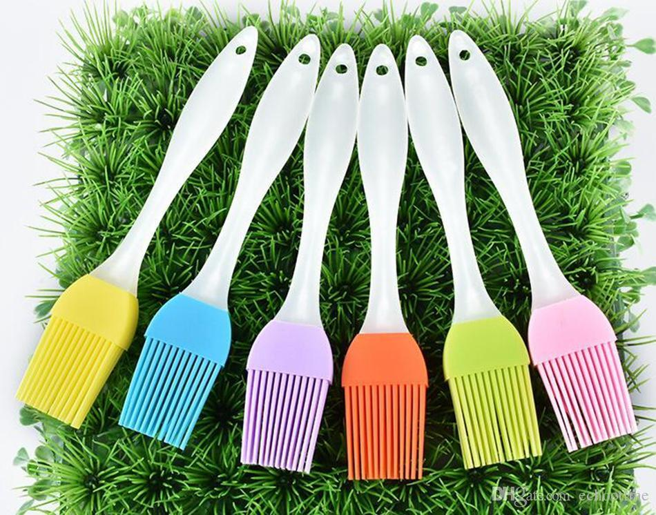 hot sale 2000pcs Silicone Butter Brush BBQ Oil Cook Pastry Grill Food Bread Basting Brush Bakeware Kitchen Dining Tool