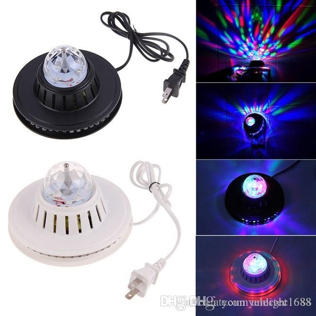Umlight1688 Crystal Moving Head RGB Color Auto Rotating Changing UFO Sunflower LED Light Home Party Stage KTV Disco Dancing Bar DJ Club