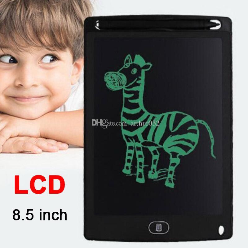 "LCD 태블릿 8.5 ""eWriter 필기 패드 휴대용 태블릿 보드 그래픽 패드 디지털 어린이를위한 디지털 그림 전자 문서 및 사용 안함"