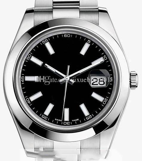 2020 homens automáticos de moda data de luxo em aço inoxidável 2,813 movimento homens relógio masculino mecânica de alta qualidade Relógio Masculino Relógio masculino