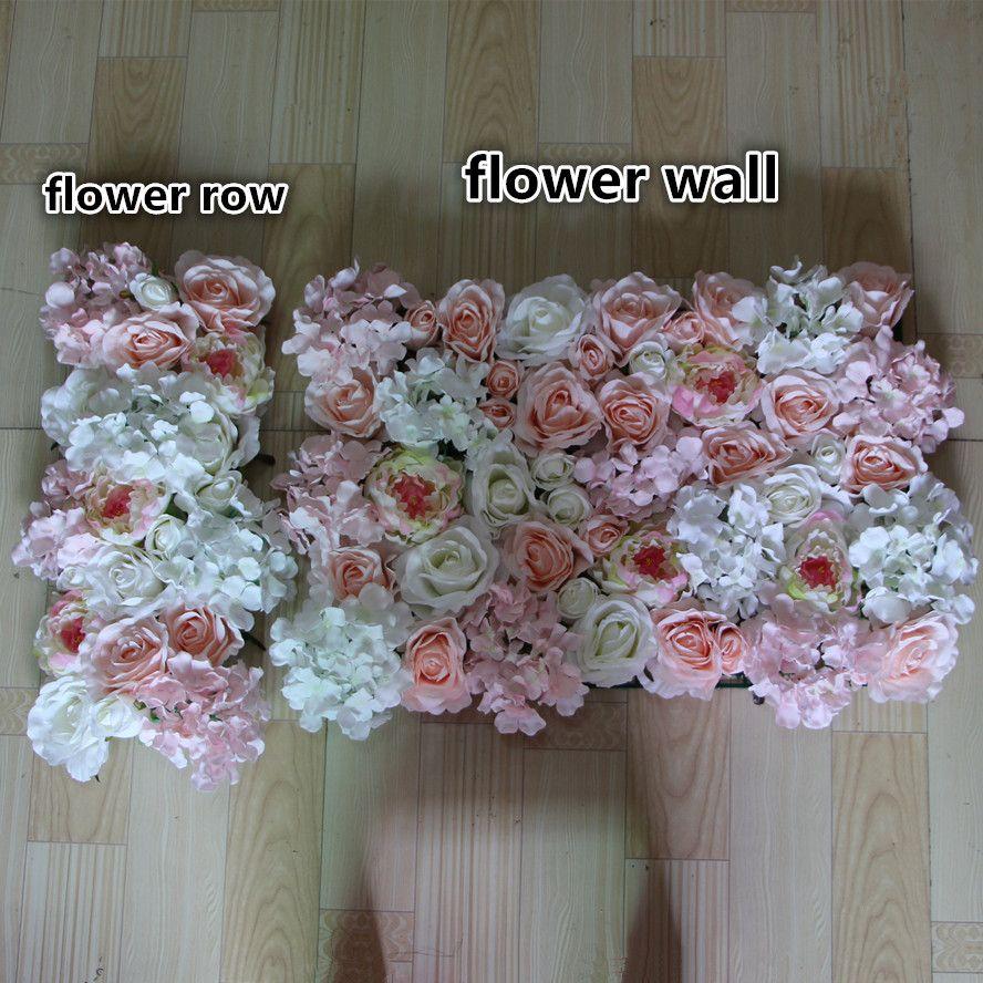 Новый 10 шт./лот искусственный шелк роза розовый пион ядро цветок стены свадебный фон газон / столб дорога свинца украшения рынка