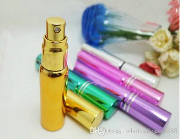 Parfüm-Zerstäuber-nachfüllbare Miniduftstoff-Sprühflasche des Reise-10ML, beweglicher leerer Reise-Spray-Geruch-Flasche 200Pcs / lot durch DHL-freies Verschiffen