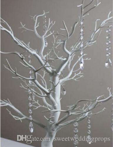교수형 크리스탈 없음) 우아한 도매 나무 중심 / 결혼 테이블 나무 centerpieces / 크리스마스 트리 중심부