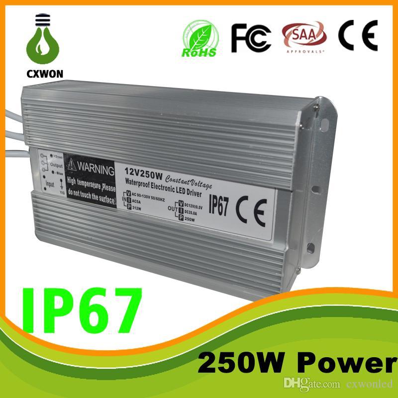 야외 IP7 전원 공급 장치 변압기 110-240V AC DC 12V 5A 10A 20A LED 조명 램프 드라이버 어댑터