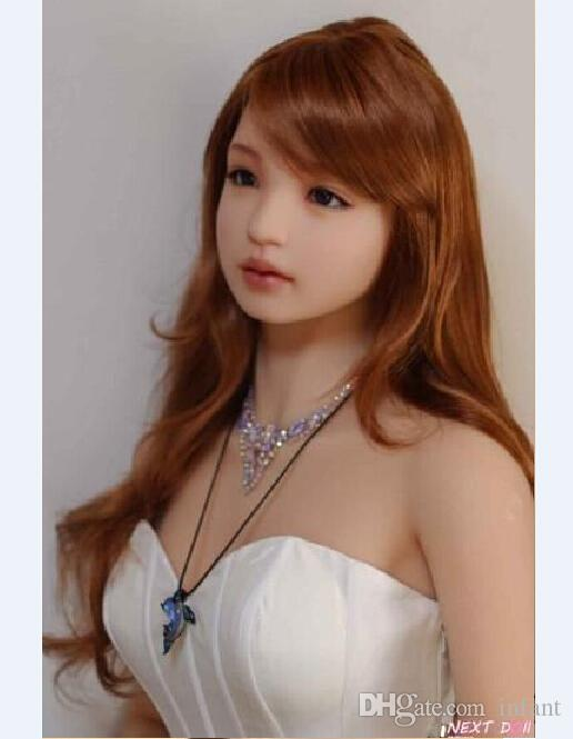 Pinklover beautiful tan skin color TPE sex doll head for 155 cm to 165cm doll 11cm deepth oral sex real doll for men
