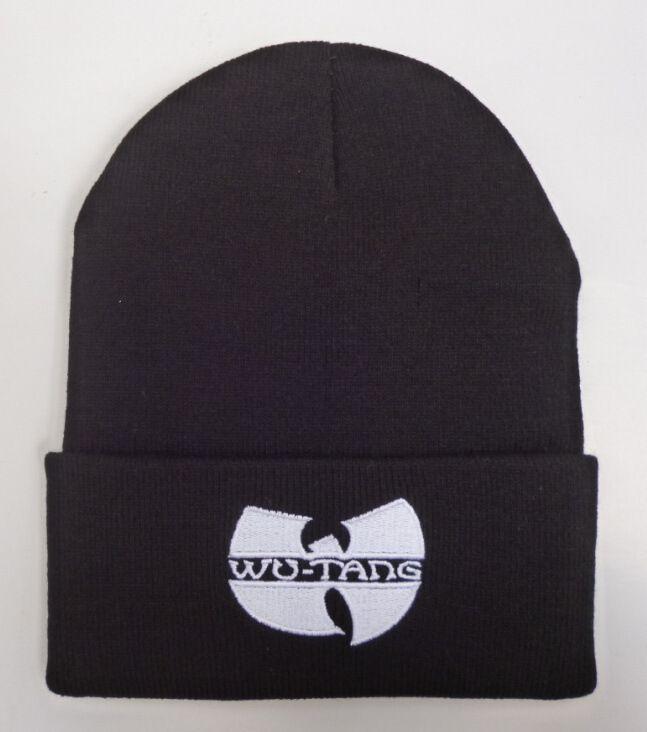 Wholesale-2015 Unisex Mask New Fashion Winter WU TANG CLAN Beanie Hats For Women Men Acrylic Black Knitted Caps Ski Crochet Gorros Toca