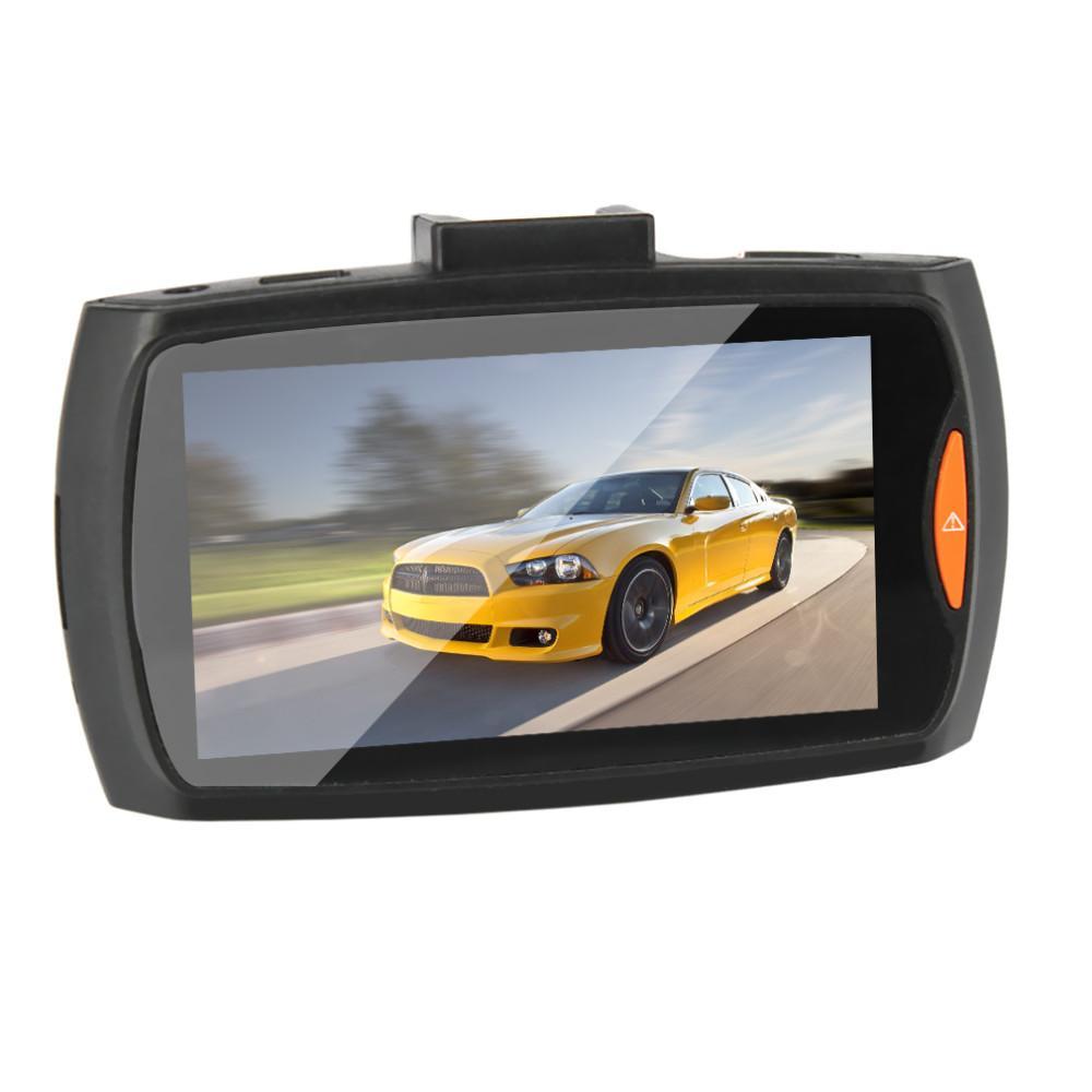 "WithRetailBOX Car Camera G30 2.4 ""Full HD 1080P Grabador de video DVR para auto DVR Dash Cam Detección de movimiento gran angular de 120 grados Visión nocturna G-Sensor"