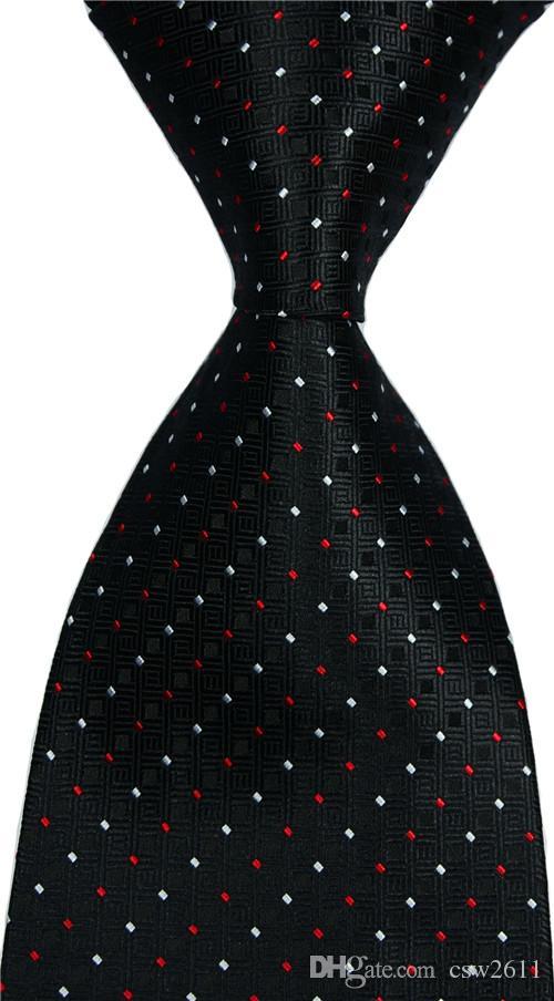 Мужская Plaid Галстук шелковый галстук Оранжевый Красный жаккардовый венчания партии сплетенные конструкции способа csw89