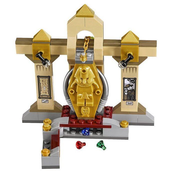 109pcs Scooby Doo Series Mystery Mummy Museum Model Building Blocks Bricks
