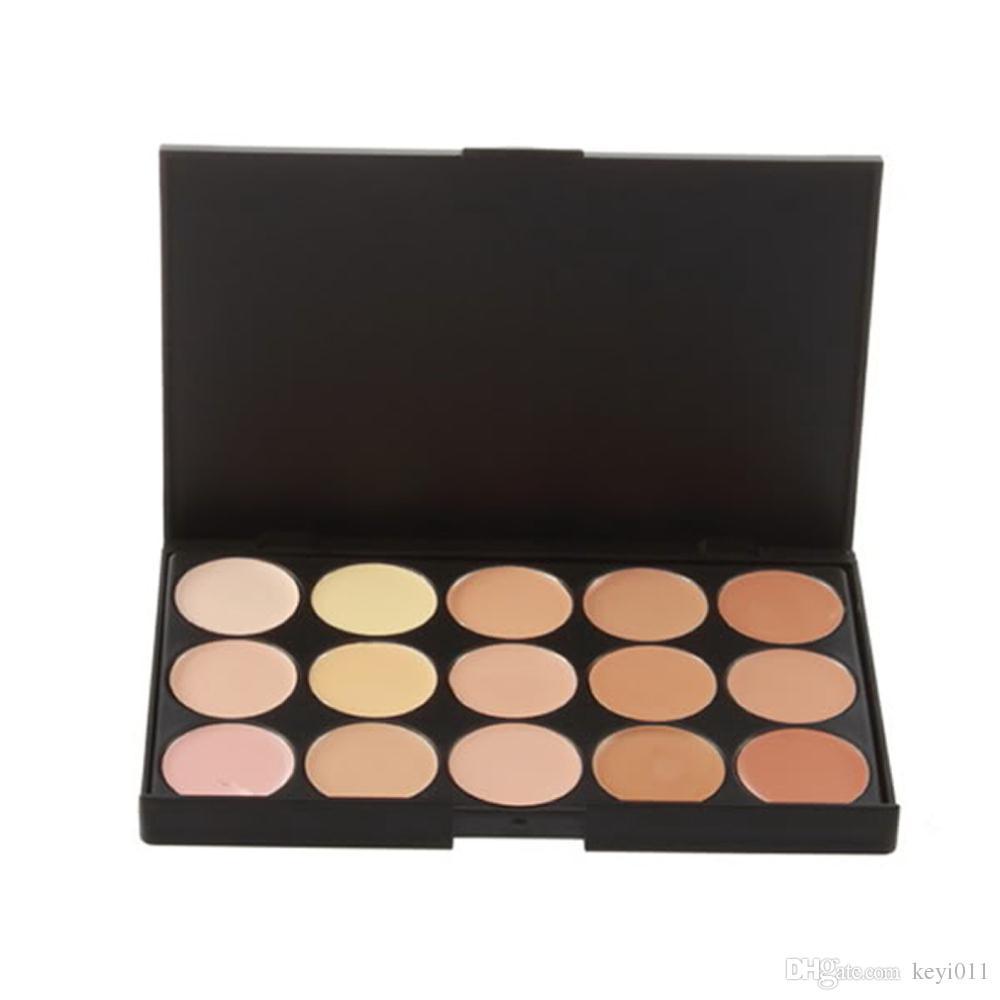 Fundación Crema resaltador para cara 15 colores Paleta de contorno Cara Crema Maquillaje Corrector Paleta Contorno Paleta Makup