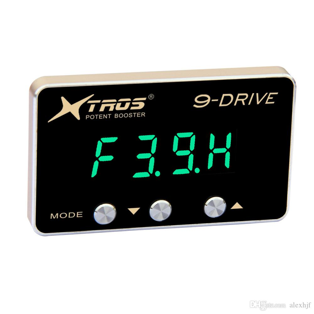 Potent Booster 8th 9-Drive Electronic Throttle Controller TP-911 for Chevrolet Captiva 2007~ON, 5mm Thickness 4-digit Display