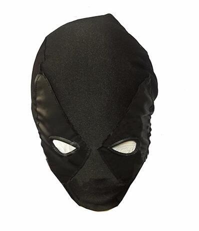 Black Deadpool Masks Superhero Balaclava X-men Hats Headgear Party Neck Zentai Hood Full Face Mask Cosplay Costume Free Shipping