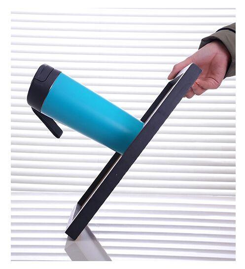 Tazza di ventosa magica Tazza per succhiare Tazza portatile Tazza per vuoto da 500 ml Acciaio inossidabile 18/10 Materiale per alimenti