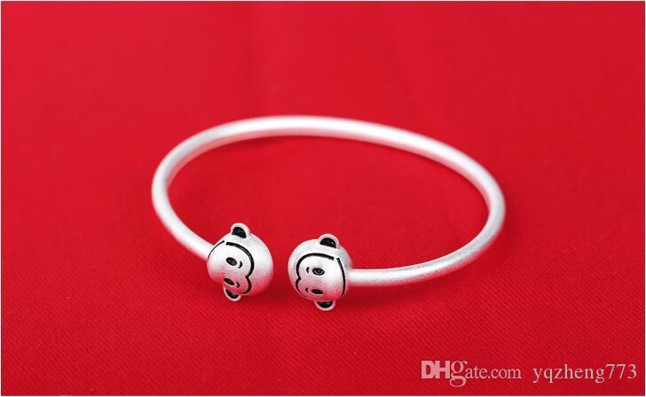 Nouveaux bijoux de mode en argent sterling 925 bracelets de charme avec taille réglable en gros avec prix usine H51