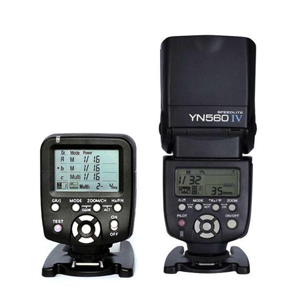 Yongnuo Flash YN560 IV Speedlite with White Diffuser + YN560-TX 2.4G Wireless Trigger Contoller for DSLR Camera Canon Nikon