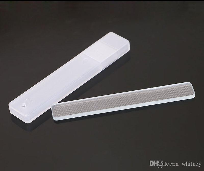 Multiustreo Coreano Nail Buffer Nail Filing 100% vidrio templado Uñas Shiner