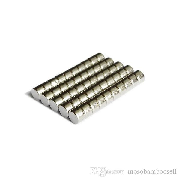 Wholesale - In Stock 200pcs Strong Round NdFeB Magnets Dia 6x4mm N35 Rare Earth Neodymium Permanent Craft/DIY Magnet Free shipping