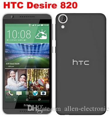 """2016 الأصل HTC Desire 820 مفتوح 4G LTE الهاتف المحمول 5.5 """"لمس 2GB RAM 16GB ROM 13.0MP كاميرا الروبوت 4.4 الهاتف المحمول مجدد"""
