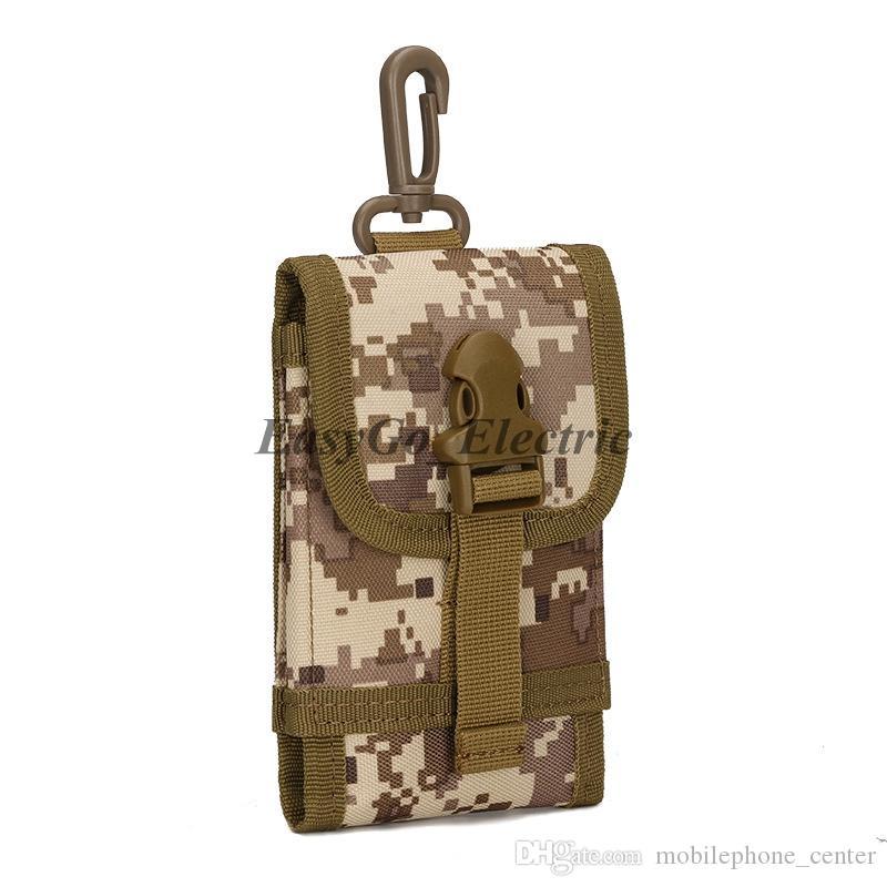 Universale Tactical Outdoor Holster Militare MOLLE Hip Marsupio Borsa a portafoglio Portafoglio Cassa del telefono per iPhone / LG / HTC