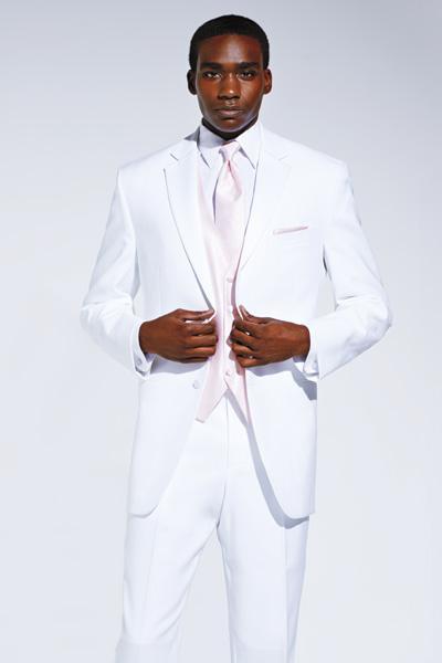 Di alta qualità One Button Avorio Smoking dello sposo picco bavero Groomsmen Mens abito da sposa Abbigliamento Prom Abiti (giacca + pantaloni + Vest + Tie) AA09