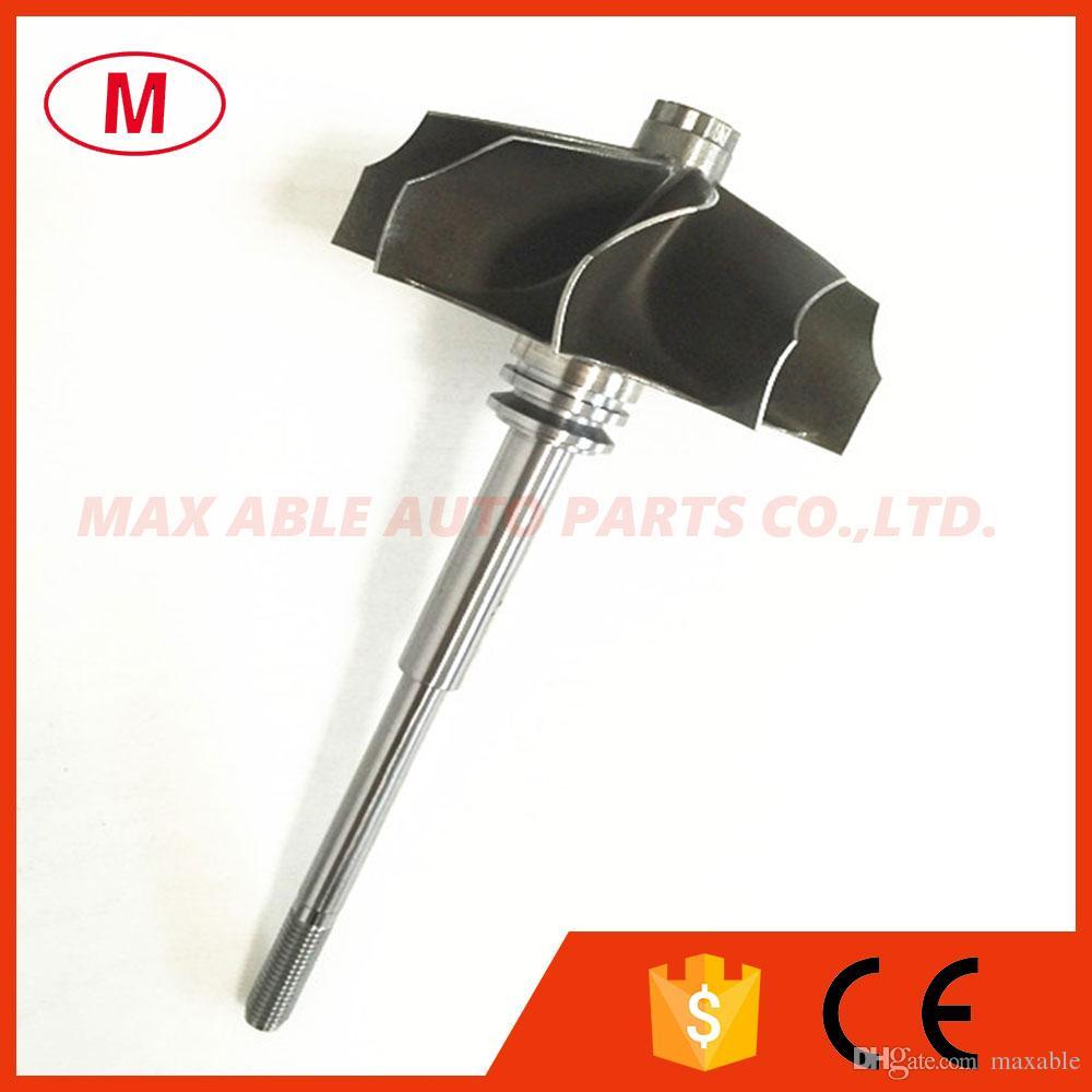 TD06HR 58.8 / 67.2mm 9 cuchillas rueda turbo inversa / rueda de turbina / rueda de turbina