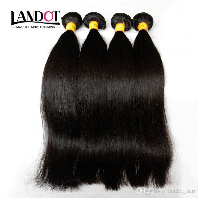 Brazilian Virgin/Human Hair Weaves Bundles 3 PCS Unprocessed 6A 7A 8A 10A Peruvian Malaysian Indian Cambodian Straight Remy/Hair Extensions
