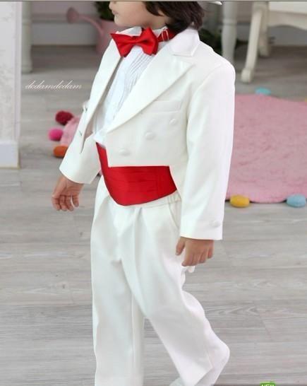 Costume de mariage complet à double boutonnage à la mode pour designer, costume de mariage pour garçon, tenue de garçon sur mesure (veste + pantalon + cravate) 04