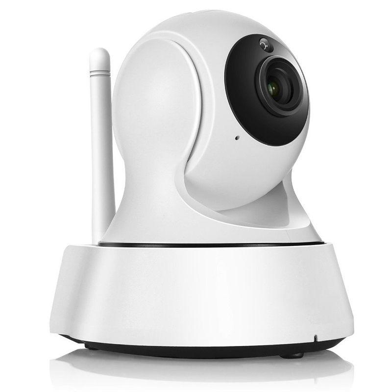 2019 nova câmara de Vigilância Wireless Mini-IP Câmara de Vigilância Wi-Fi 720P Visão Nocturna CCTV Câmara bebé Monitor