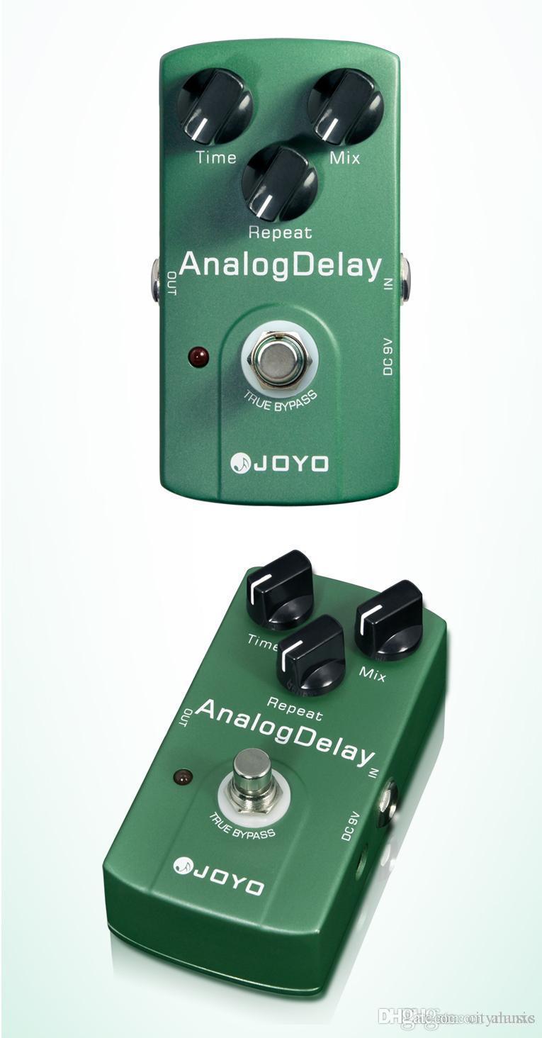 Ücretsiz Kargo Elektronik Yeni Joyo JF-33 Analog Gecikme Elektrik Violao Guitarra Gitar Efekt Pedal Gerçek Bypass Enstrüman Parçaları I293