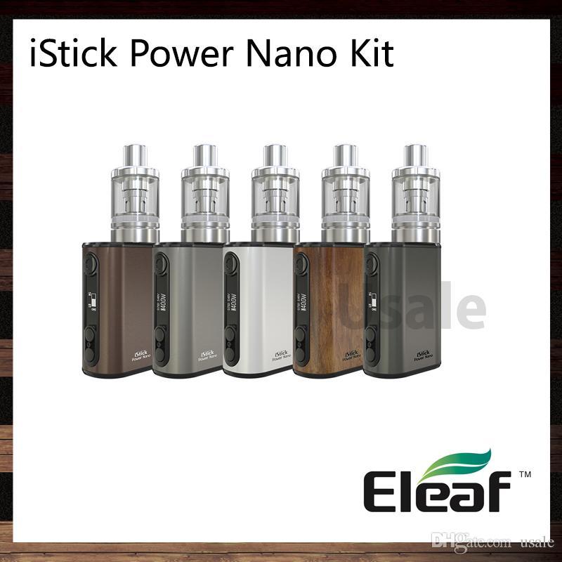 Eleaf iStick Power Nano Kit With iStick Power Nano 40W TC Mod 1100mah Battery Melo 3 Nano 2ml Top Filling Tank 100% Original