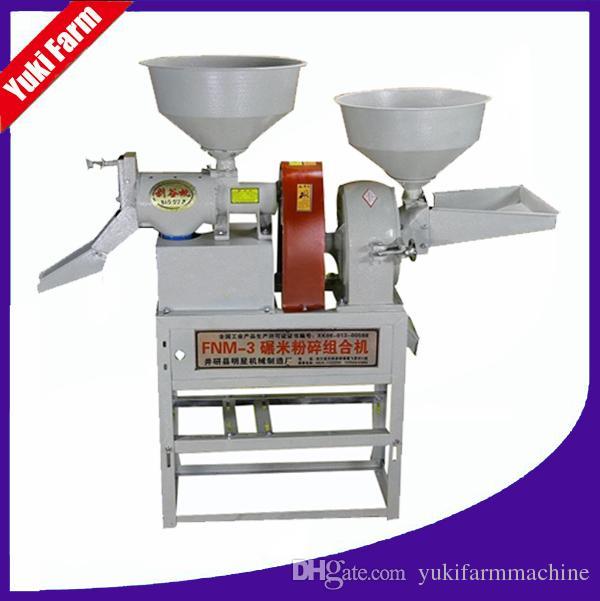 Prix de machines de moulin à riz Mini-moulin à riz avec le concasseur à mâchoires broyeur à poudre de piment de broyeur de maïs