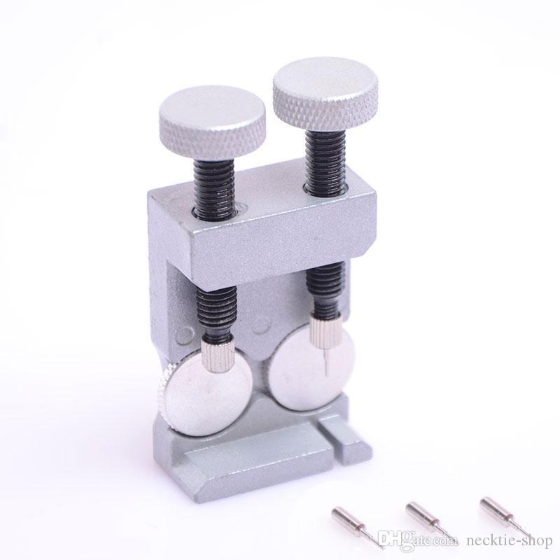 Banda de alta calidad del acoplamiento de la correa removedor del perno Kit de herramienta de reparación ajustable con 3 pernos adicionales Relojes herramienta de diagnóstico corbata-tienda