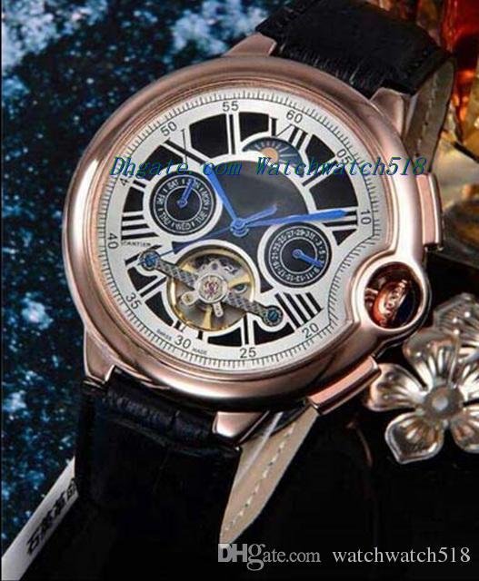 Orologi di lusso Moda Nuovi orologi di cuoio genuini della fascia di cuoio genuini degli amanti di lusso Orologi da polso di bambù di Palo Santo per gli uomini come migliori regali