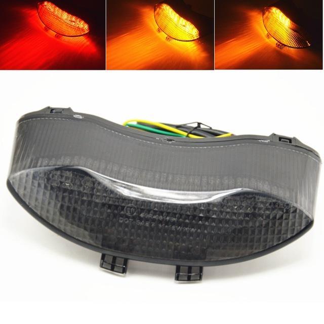 Motorrad integrierte LED Bremse Rücklicht Blinker für 675 2005-2010 2006 2007 2008 2009 drehen Lichter Freies Verschiffen