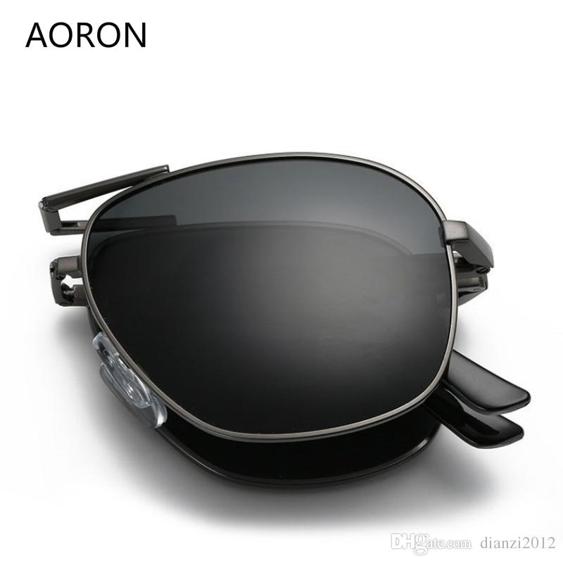 Fashion Aoron Vintage Retro Men Women Sport Outdoor Sunglasses Eyewear