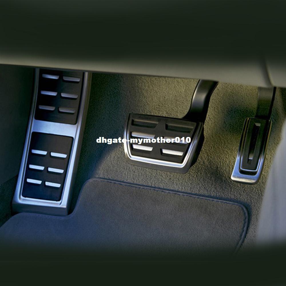 DSG 스포츠 페달 FIT 아우디 A4 B8 A6 A7 A8 S4 RS4, A5 S5 RS5 8T, Q5 SQ5 8R 연료 브레이크 발판 페달 커버 자동차 액세서리