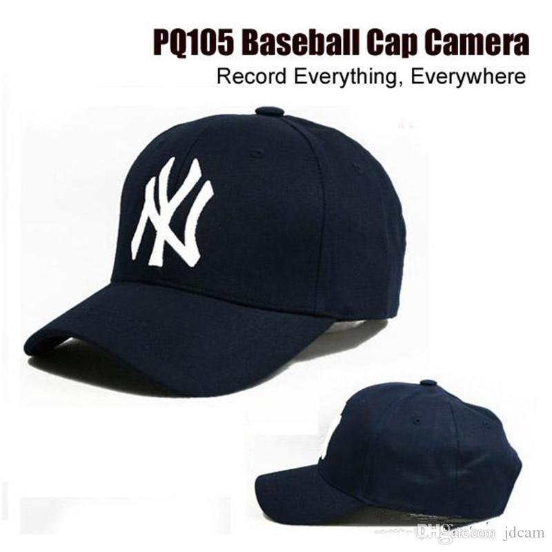 8GB Cap Hat Camera Baseball Cap Hat Candid Camera Video Camcorder With Remote Control Outdoor Mini DVR Video Recorder