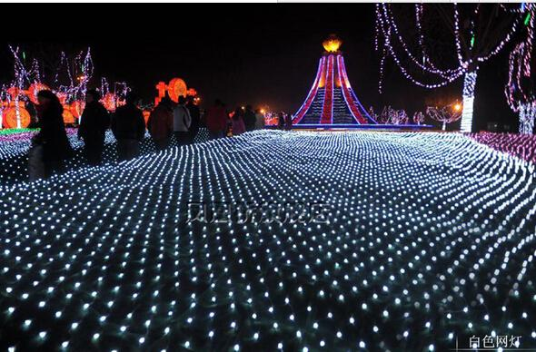Large Outdoor Christmas Decorations.Led Net Lights Large Outdoor Christmas Decorations Garden Mesh Fairy Light Christmas Outdoor Waterproof 3m 2m200led Ac110v 220v Commercial Outdoor
