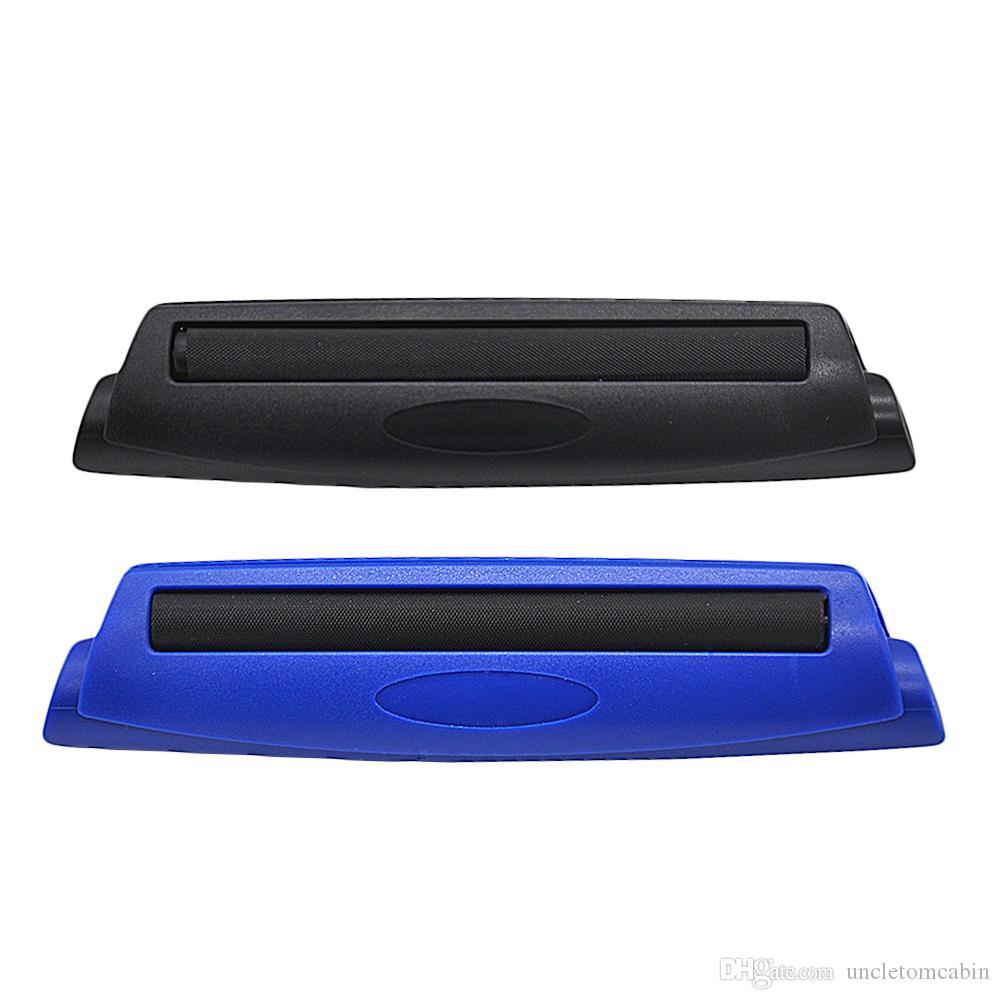 Hartkunststoff 110mm Manuelle Zigaretten-Tabakinjektor-Schwarz- und Blauer Rollmaschine Roller Hersteller für Rollpapiere