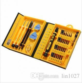 L'originale SHE.K 38 in 1 kit di strumenti di riparazione cacciavite elettronico professionale scatola SK-9038A