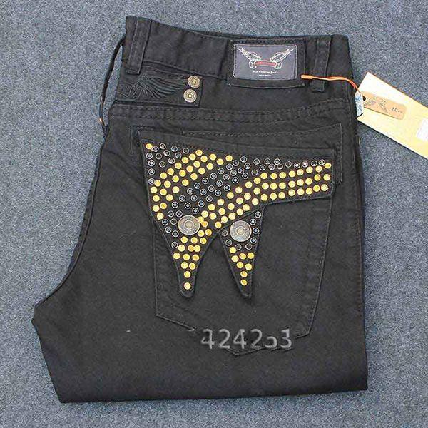 uomini nuovi denim strappati marca famosa pettirossi dei jeans degli uomini dei jeans biker di Robin uomo di grandi dimensioni grandi con scintilla portachiavi maschio pietra