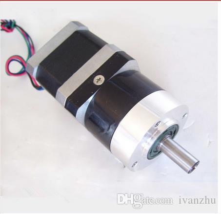 ¡Comentarios 100% positivos! Motor paso a paso con engranaje planetario NEMA 17 de alto par motor 5: 1 10: 1 Longitud del motor 40 mm, 48 mm, motor de paso a desnivel Nema17 de 63 mm