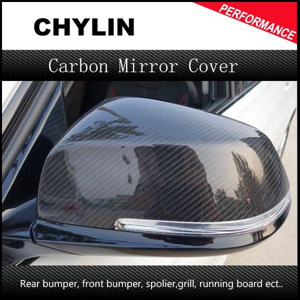 Copri specchietti retrovisori laterali in fibra di carbonio di ricambio per BMW 2013 2013 2014 1 2 3 4 X Serie F20 F22 F23 F30 F32 F33 X1 E84