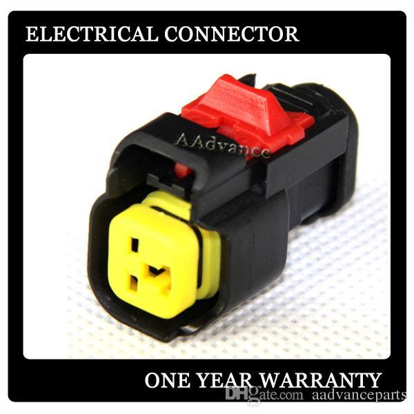 EV6 yakıt enjektör fiş konnektör Adaptör dişi Terminaller + Mühürler ile DJK7025A-1.5-21