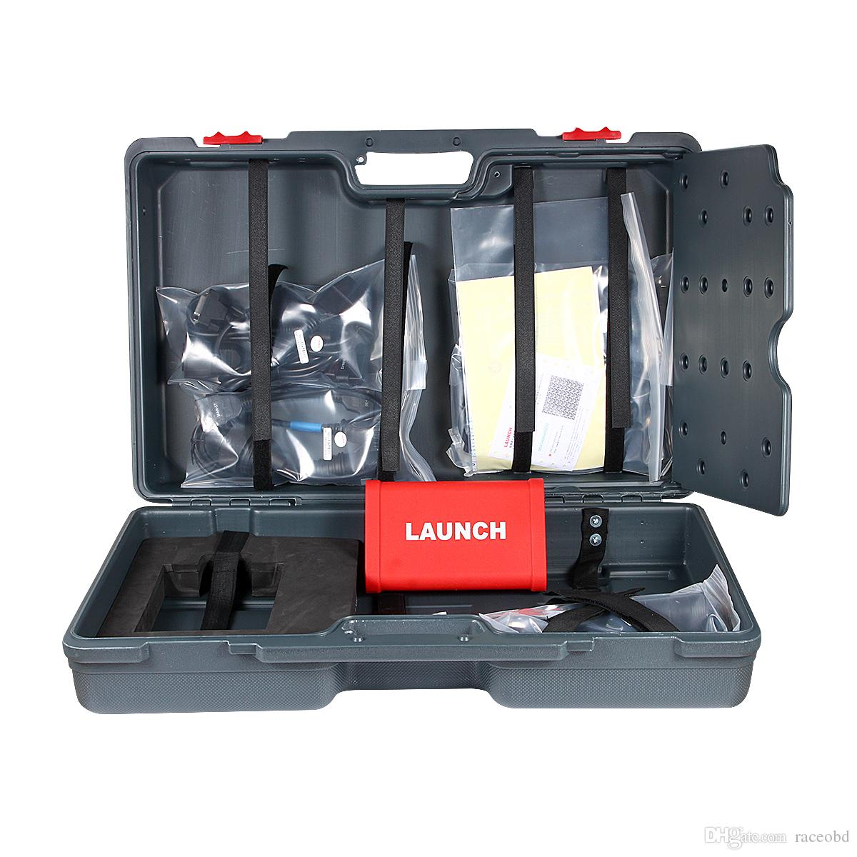 최신 도착 LAUNCH X431 HD 무거운 듀티 트럭 진단 모듈 작동 X431 V + X431 Pro3 무료 업데이트 온라인 시작