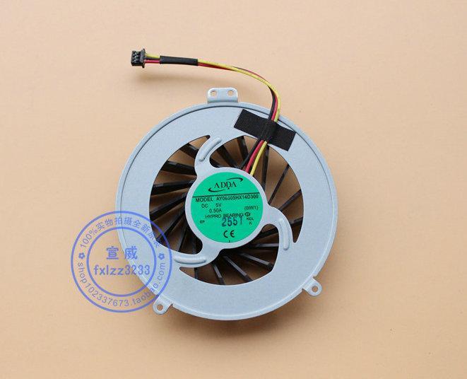 New Original Vaio SVL241 SVL241A11L Todos AY06505HX14D300 5 V Laptop ventilador de refrigeração