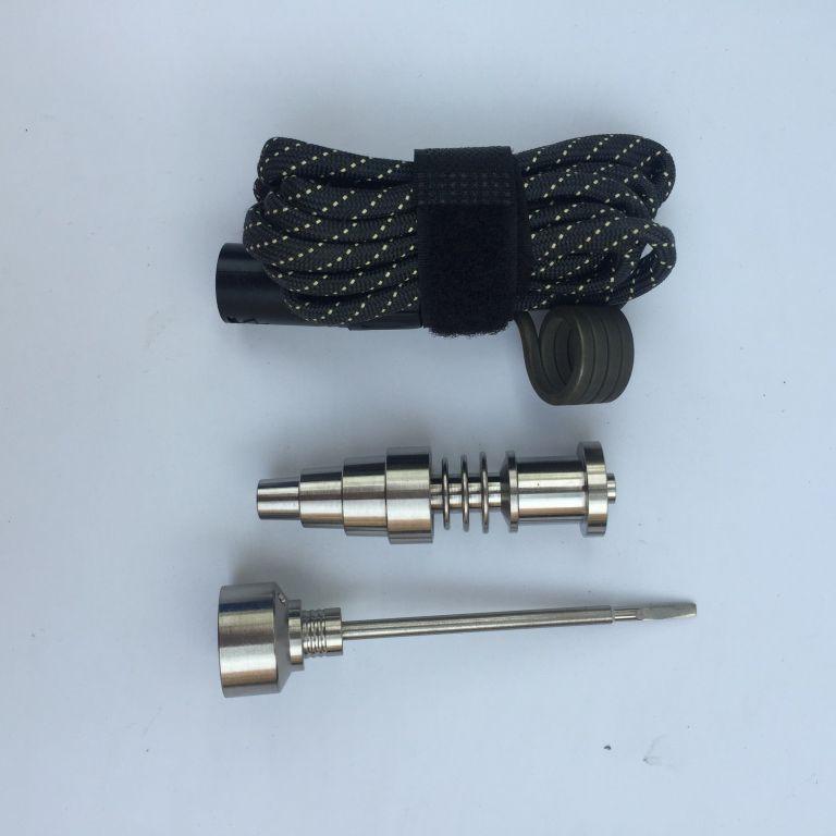 Outil Pièces Gr2 G2 Titane Clou 16mm 20mm Radiateur Titane NAIL Femelle Mâle Avec Carb Cap pour Vaporisateur