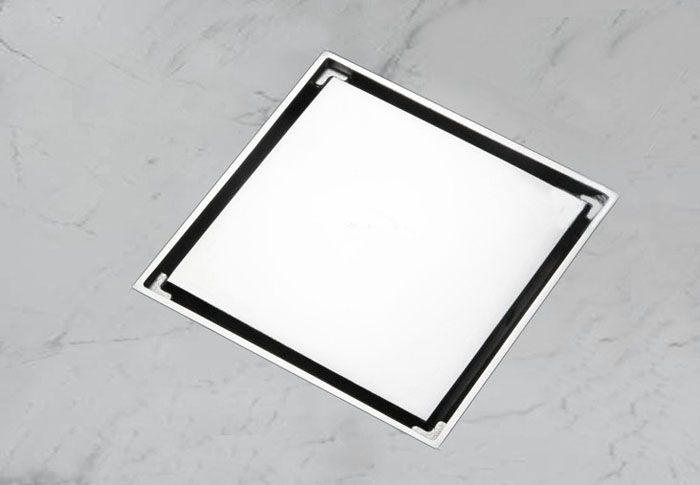 """Frete grátis 4 """"Invisível chão dreno odor pragas top 10 cm x 10 cm de cobre de drenagem de chão dreno de cobre DR029"""