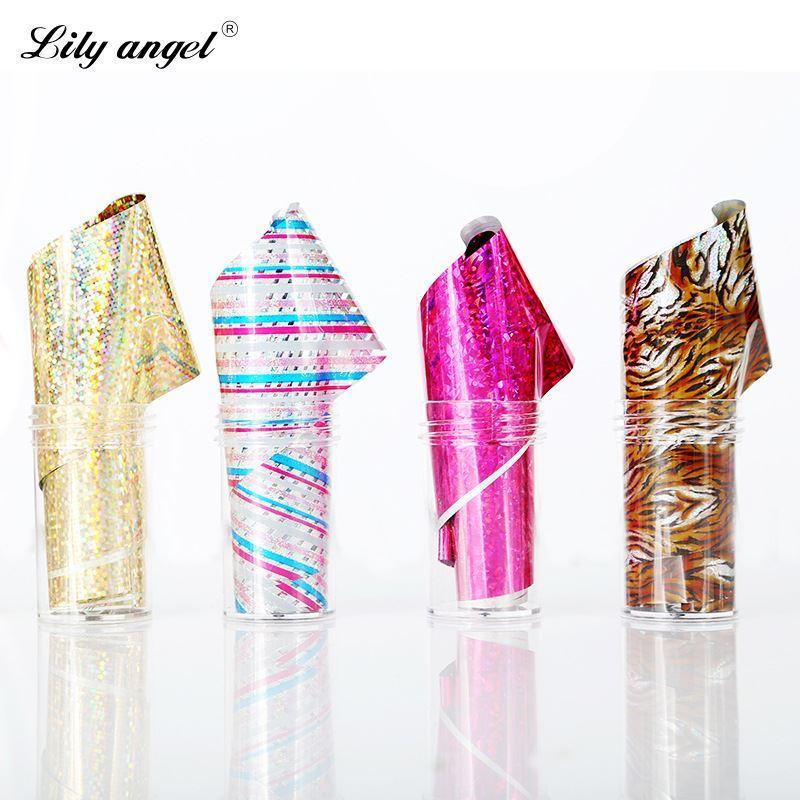 Новое поступление маникюр целлофановое стекло наклейки для ногтей красочные лазерный металл маникюр прозрачная звезда бумажные изделия бесплатная доставка